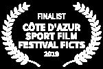 FINALIST - CTE DAZUR SPORT FILM FESTIVAL FICTS - 2019
