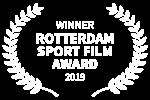 WINNER - ROTTERDAM SPORT FILM AWARD - 2019