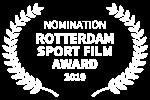 NOMINATION - ROTTERDAM SPORT FILM AWARD - 2019