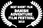 BEST SHORT FILM - DANISH ADVENTURE FILM FESTIVAL - 2015