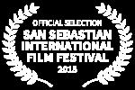 OFFICIAL SELECTION - SAN SEBASTIAN INTERNATIONAL FILM FESTIVAL - 2015